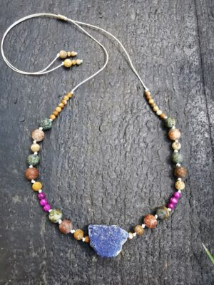 Lapis lazuli | jaspis obrazkowy